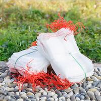 50/100pcs Garden Plant Fruit Protect Drawstring Net Bag Against Insect Pest Bird
