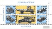 Schweden Block8 (kompl.Ausg.) postfrisch 1980 Automobilbau