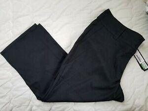1 NWT ANTIGUA WOMEN'S PANTS, SIZE: 12, COLOR: BLACK (J193)