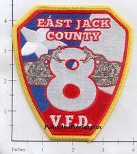 Texas - East Jack County TX Volunteer Fire Dept Patch