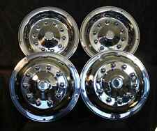 "22.5 "" wheel simulators hubcaps 10 lug bus truck rv semi universal fit motorhome"