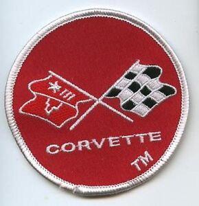 Corvette Equipe de Course Super SPORTS Combinaison Patch : Checker Drapeau Logo