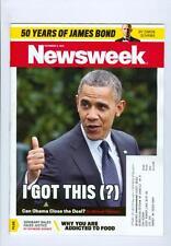 2012 Newsweek Magazine: Barrack Obama I Got This