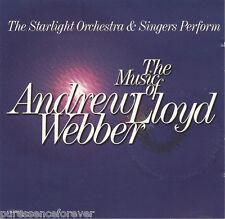 STARLIGHT ORCHESTRA & SINGERS - Music Of Andrew Lloyd Webber (UK 18 Tk CD Album)