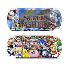 Super Smash Bros Brawl 115 Vinyl Decal Skin Sticker Cover for Sony PSP 3000