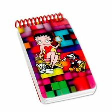 Betty Boop Mirror Dog Blocks 3D Lenticular Notebook 2x4 200 Page #BB-209-NBM#