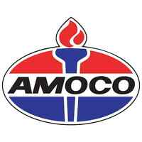 "Amoco vinyl cut sticker decal 6"" (full color)"