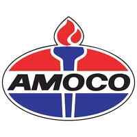 "Amoco vinyl cut sticker decal 18"" (full color)"