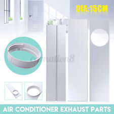 15CM Window Adaptor+ 2/3Pcs Window Slide Kit Plate For Portable Air Conditioner