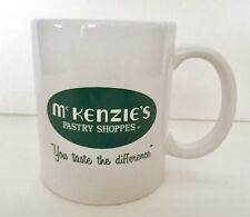 VTG OLD McKENZIE'S PASTRY SHOPPES BAKERY DONUT SHOP NEW ORLEANS COFFEE MUG CUP !