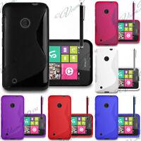 Etui Coque Housse TPU Silicone Gel Motif S-Line Nokia Lumia 530/ 530 Dual Sim