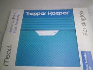 """Trapper Keeper Universal Folio for 9 and 10"""" Tablets - K97326WW-Blue"""