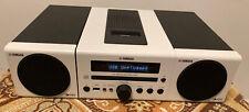YAMAHA CRX-040 CD Stereo Receiver iPod Dock [22D]