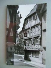 Ansichtskarte Bensheim a.d. Bergstraße 1965 Altes Fachwerkhaus am Markt