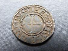 Medieval Crusader Cross Coin Antique 1300-1400 AD Silver Knight Templar Europe