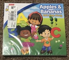 FISHER PRICE Little People Apples & Bananas ABC Singalong Children's Music CD