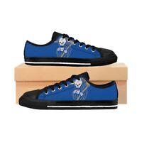 Il Mietitore in pausa - Scarpe sneakers da uomo basse nero, rosso, blu