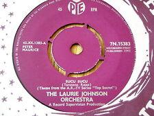 """LAURIE JOHNSON - SUCU SUCU   7"""" VINYL"""