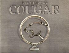 Mercury Cougar 1977 Canadian Market Sales Brochure S Brougham XR-7