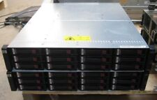 HP StorageWorks MSA2000 with 12x 300GB 15K SAS HDD, PSU, AJ751A I/O Controller