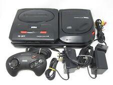 SEGA Mega-CD II (2) Console + SEGA Mega Drive II (2) Console Bundle