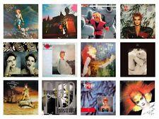 MINIATURE 1/12 Non Playable VINYL RECORD ALBUMS - TOYAH - VARIOUS TITLES