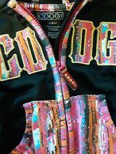 COOGI Girls Lightweight Hooded Jacket Long Sleeve Full Zip Multicolor Size 3T