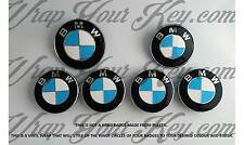 WHITE & BABY BLUE M SPORT BMW Badge Emblem Overlay HOOD TRUNK RIMS FITS ALL BMW