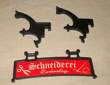 Playmobil altes Hängeschild mit Haltern aus Set 3440 Schneiderei Mittelalter