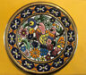"""Cearco Handpainted Small 6"""" Decorative Plate flowers 24k Made In Spain FREE SHIP"""