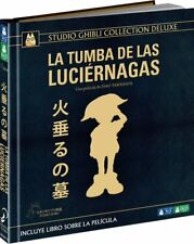 LA TUMBA DE LAS LUCIERNAGAS BLU RAY DIGIBOOK DELUXE NUEVO ( SIN ABRIR ) GHIBLI
