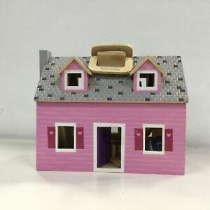 Melissa & Duog Wooden Dollhouse, Ages 3+ #704
