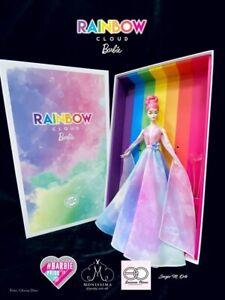 Barbie Platinum Silkstone Rainbow Cloud Spanish Doll Convention NRFB