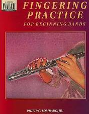 NEW Fingering Practice for Beginning Bands (Blackline Masters, 00-2574x)