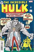 INCREDIBLE HULK #1 (2019 FACSIMILE EDITION REPRINT) COMIC BOOK ~ Marvel Comics