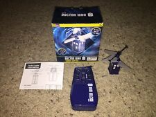 "BBC's Doctor Who 3"" Remote Control Tardis Copter with Box *FOR PARTS/REPAIR!*"