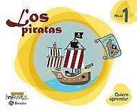 quiero aprender 1: los piratas (3 años) Educación infantil. NUEVO. Envío URGENTE