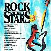 (CD) Rock Super Stars Vol. 3 - Queen, Mike Oldfield, Peter Gabriel, Chicago,u.a.