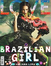 LOVE #12 Brazilian Girl ADRIANA LIMA Christy Turlingotn AMY ADAMS Kate Moss @NEW