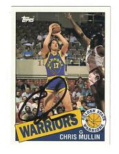 Chris Mullin AUTOGRAPH BASKETBALL ARCHIVES CARD SIGNED GOLDEN STATE