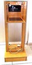 Ladenvitrine Gebraucht Schaukasten Messe Verkaufseinrichtung 130 cm Holz Licht