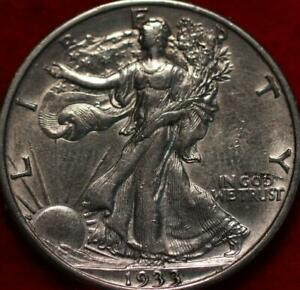 1933-S San Francisco Mint Silver Walking Liberty Half
