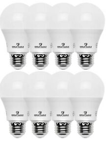 Great Eagle A19 40W Replacement LED bulb Soft White 3000K 480 Lumens (8 pack)