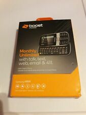 Samsung Array Sliders (Boost Mobile) Cellular Phone, New, Factory Sealed