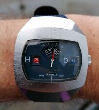 Montre Sicura (Breitling) Jump Hour mécan. Sortez de l'ordinaire. Très bon état