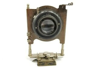Kodak Anastigmat 170mm f7.7 lens w/ILEX Shutter and 3-A Autographic Model C face