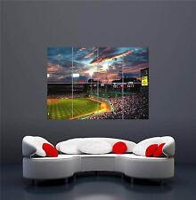FENWAY PARK BOSTON BASEBALL MLB SPORT NEW GIANT WALL ART PRINT POSTER OZ219