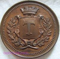 MED9883 - MEDAILLE COMICE AGRICOLE DE TOUL VINS 1878