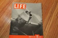 LIFE MAGAZINE: TRANSOCEANIC TRANSPORT  AUGUST 23 1937
