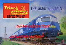 Triang Hornby Railways The Blue Pullman 1964 Poster A4 Size Advert Shop Sign